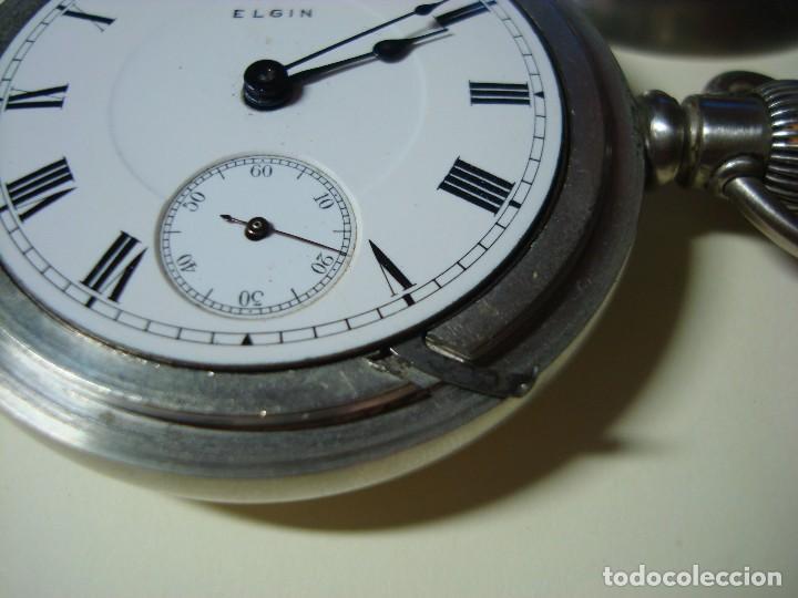 Relojes de bolsillo: ELGIN BISEL A ROSCA - Foto 4 - 145126566