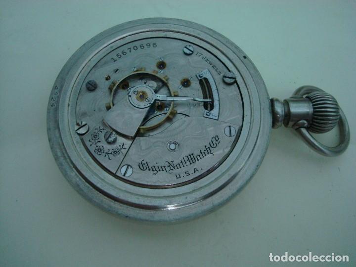 ELGIN BISEL A ROSCA (Relojes - Bolsillo Carga Manual)