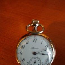 Relojes de bolsillo: RELOJ DE BOLSILLO ILLINOIS U.S.A. (FUNCIONA). Lote 145170918