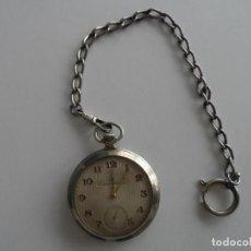 Relojes de bolsillo: RELOJ DE BOLSILLO Y DE CARGA MANUAL LOCARNO WATCH 1931. Lote 145342234