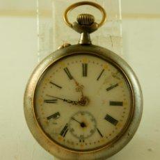 Relojes de bolsillo: RELOJ DE HIERRO MECANICO MUY ANTIGUO H2. Lote 145785170