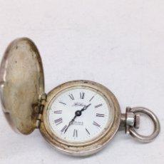 Relojes de bolsillo: RELOJ DE BOLSILLO PLATA 835 PARA PIEZAS. Lote 145953502
