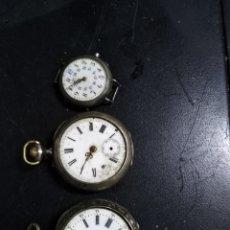 Relojes de bolsillo: 3 RELOJES PARA RESTAURAR. Lote 146002230