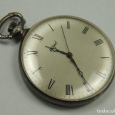 Relojes de bolsillo: PRECIOSO RELOJ DE BOLSILLO CARGA MANUAL MARCA ROWI EXCELENTE PIEZA. Lote 146118986