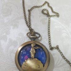 Relojes de bolsillo: PRECIOSO RELOJ DE BOLSILLO PRINCIPITO EL PEQUEÑO PRINCIPE MAQUINARIA DE CUARZO. Lote 146128989
