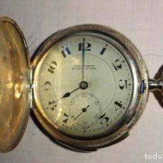 Relojes de bolsillo: RELOJ DE BOLSILLO DE 1907 - RUEFF FRERES - 17 RUBIS 18K - BORDEAUX 1907 - FUNCIONAL . Lote 146135638
