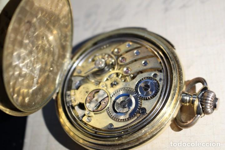 Relojes de bolsillo: RELOJ DE BOLSILLO DE 1907 - RUEFF FRERES - 17 RUBIS 18K - BORDEAUX 1907 - FUNCIONAL - Foto 5 - 146135638