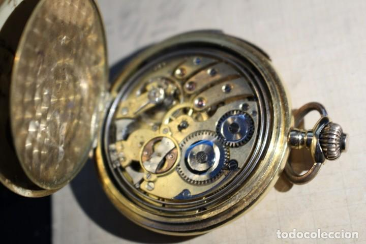 Relojes de bolsillo: RELOJ DE BOLSILLO DE 1907 - RUEFF FRERES - 17 RUBIS 18K - BORDEAUX 1907 - FUNCIONAL - Foto 6 - 146135638