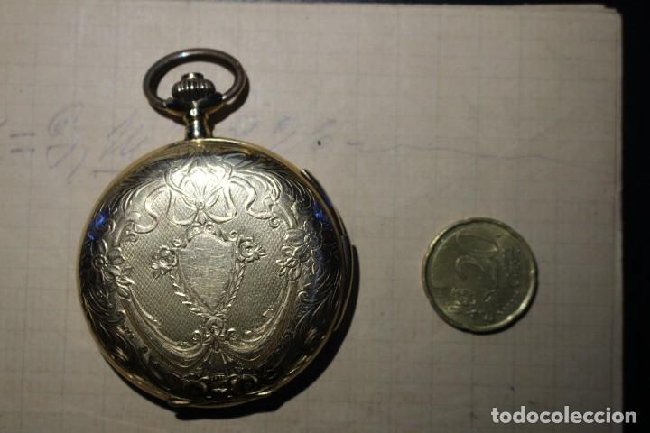 Relojes de bolsillo: RELOJ DE BOLSILLO DE 1907 - RUEFF FRERES - 17 RUBIS 18K - BORDEAUX 1907 - FUNCIONAL - Foto 7 - 146135638