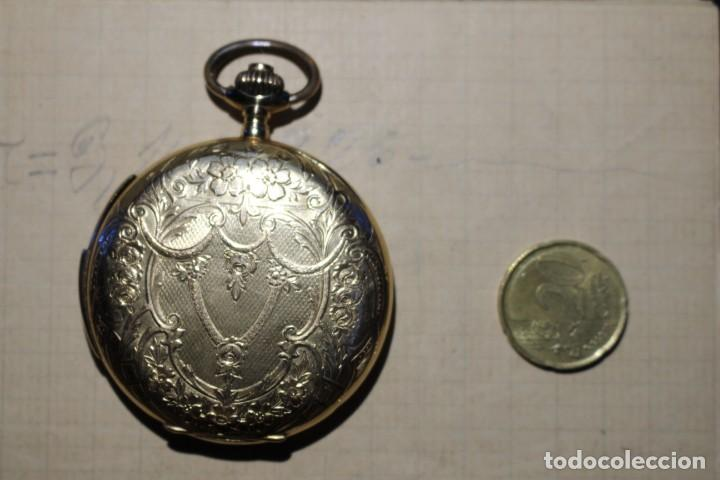 Relojes de bolsillo: RELOJ DE BOLSILLO DE 1907 - RUEFF FRERES - 17 RUBIS 18K - BORDEAUX 1907 - FUNCIONAL - Foto 8 - 146135638