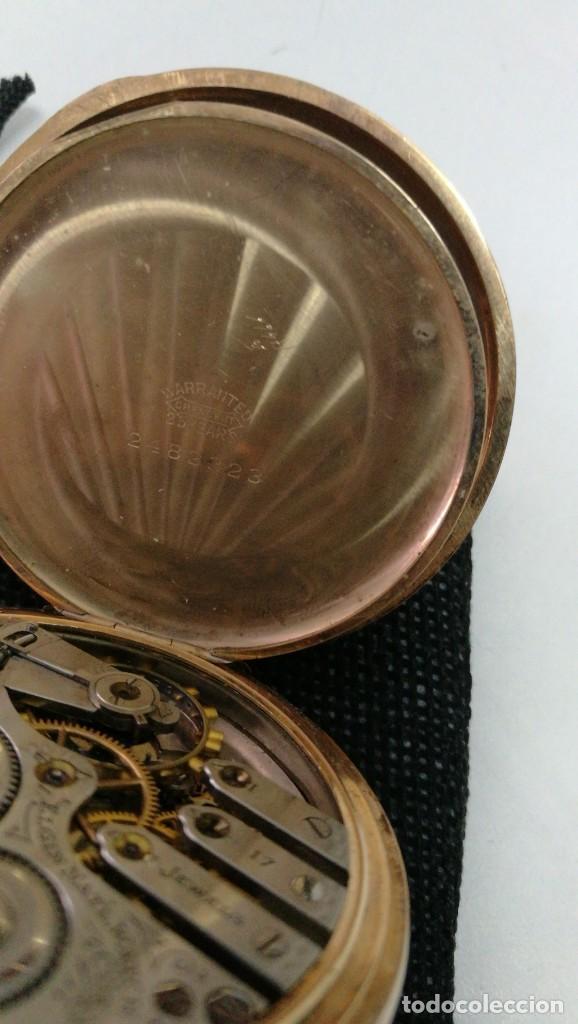Relojes de bolsillo: RELOJ ELGIN U.S.A. - 3 TAPAS. FUNCIONANDO - Foto 2 - 146521570