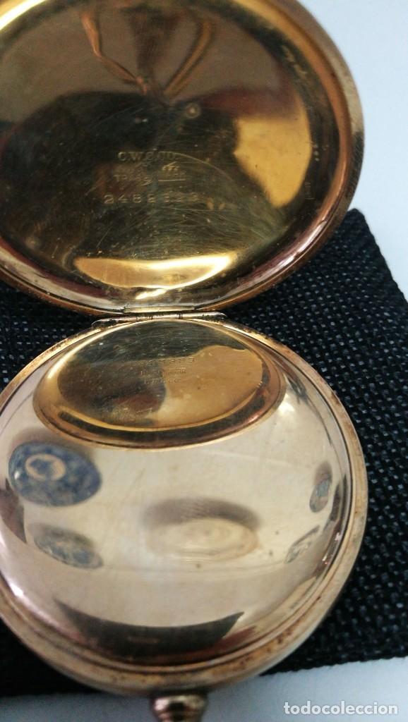 Relojes de bolsillo: RELOJ ELGIN U.S.A. - 3 TAPAS. FUNCIONANDO - Foto 5 - 146521570