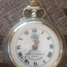Relojes de bolsillo: RELOJ DE BOLSILLO ROSKOPF, DE CUERVO Y SOBRINOS, LA HABANA. GRAN OCASIÓN. Lote 146631858