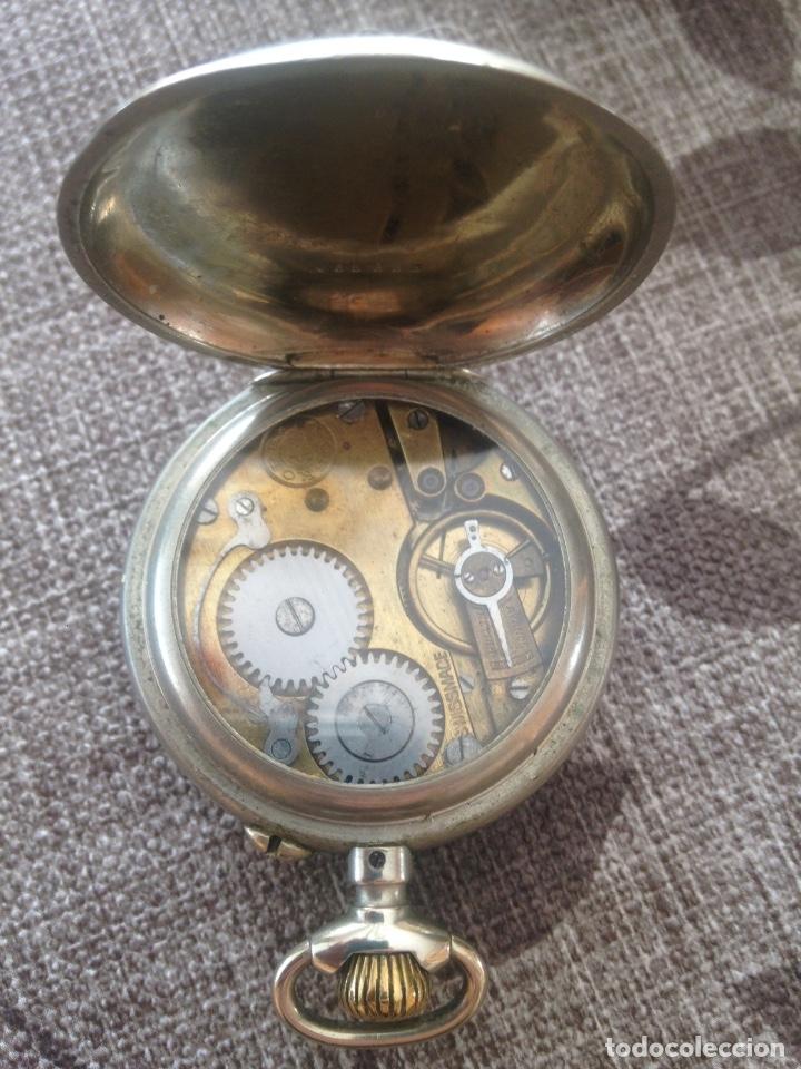 Relojes de bolsillo: Reloj de bolsillo Roskopf, de Cuervo y Sobrinos, La Habana. Gran Ocasión - Foto 3 - 146631858