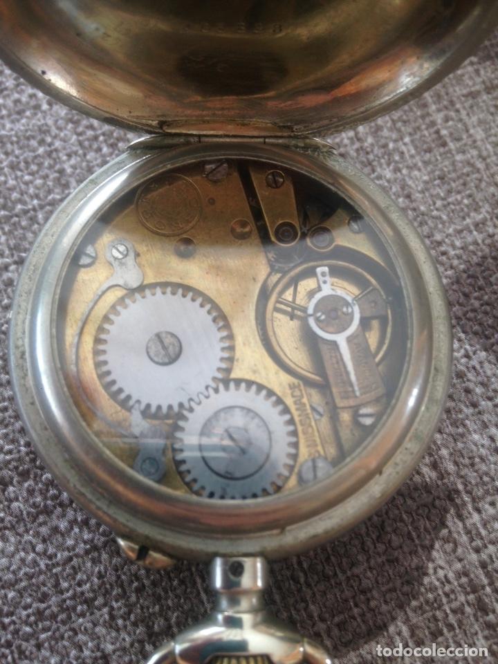 Relojes de bolsillo: Reloj de bolsillo Roskopf, de Cuervo y Sobrinos, La Habana. Gran Ocasión - Foto 4 - 146631858