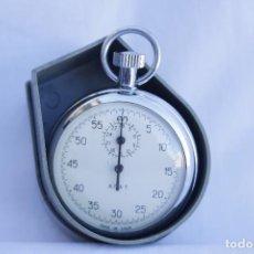 Relojes de bolsillo: CRONOMETRO TIPO RELOJ DE BOLSILLO CARGA MANUAL - AGAT - MADE IN USSR. Lote 146644838