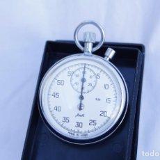 Relojes de bolsillo: CRONOMETRO TIPO RELOJ DE BOLSILLO CARGA MANUAL - AGAT - MADE IN USSR. Lote 146645246