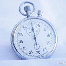 Relojes de bolsillo: CRONOMETRO TIPO RELOJ DE BOLSILLO CARGA MANUAL - AGAT - MADE IN USSR. Lote 146645574