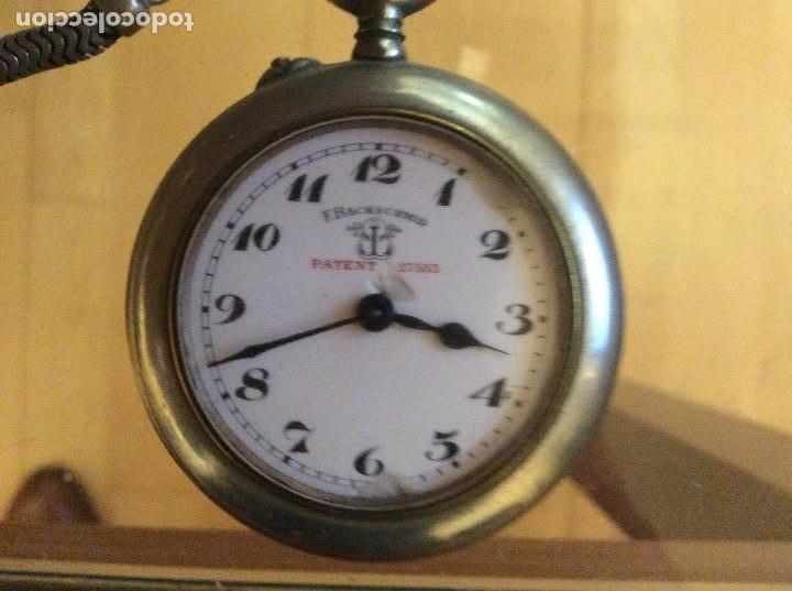 Relojes de bolsillo: Reloj de bolsillo 4,5 diámetro. 1880 F.Bachschmid suizo.tapa abierta por relojero.hay fotos del inte - Foto 2 - 146676490
