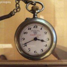 Relojes de bolsillo: RELOJ DE BOLSILLO 4,5 DIÁMETRO. 1880 F.BACHSCHMID SUIZO.TAPA ABIERTA POR RELOJERO.HAY FOTOS DEL INTE. Lote 146676490