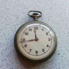 Relojes de bolsillo: ANTIGUO RELOJ DE BOLSILO. NO FUNCIONA, PARA PIEZAS. Lote 146730390