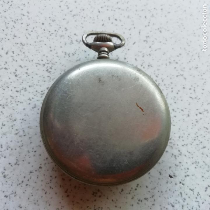 Relojes de bolsillo: Antiguo reloj de bolsilo. No funciona, para piezas - Foto 2 - 146730390