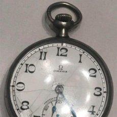 Relojes de bolsillo: RELOJ DE BOLSILLO OMEGA, CARGA MANUAL, FUNCIONANDO.. Lote 146768186