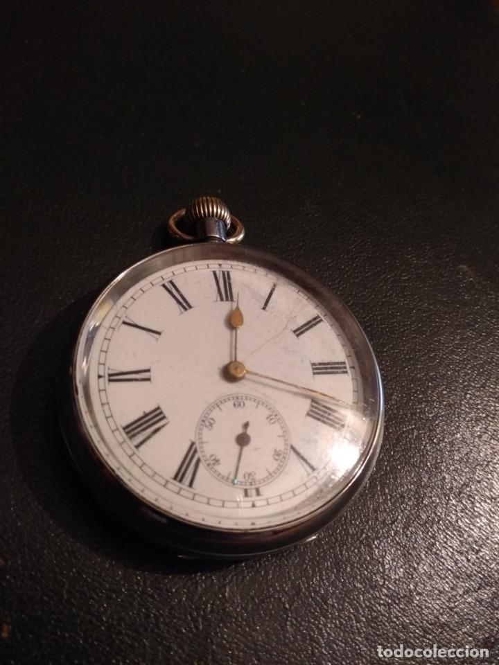RELOJ DE BOLSILLO (FUNCIONANDO) (Relojes - Bolsillo Carga Manual)