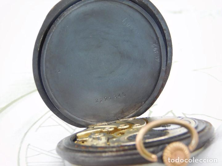 Relojes de bolsillo: LONGINES-RELOJ DE BOLSILLO-2 TAPAS-CIRCA 1908-FUNCIONANDO - Foto 7 - 146936890