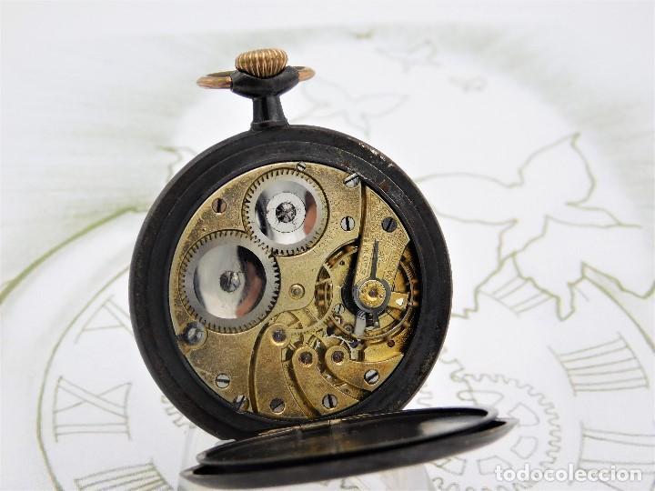 Relojes de bolsillo: LONGINES-RELOJ DE BOLSILLO-2 TAPAS-CIRCA 1908-FUNCIONANDO - Foto 8 - 146936890