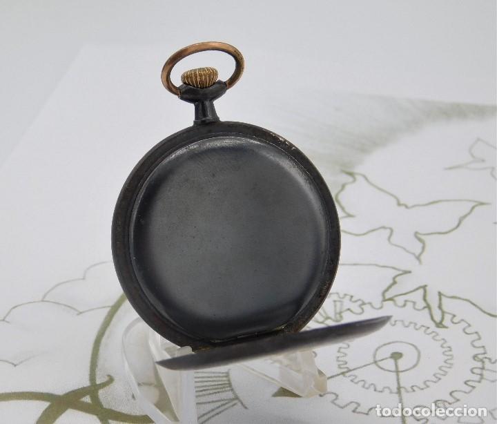 Relojes de bolsillo: LONGINES-RELOJ DE BOLSILLO-2 TAPAS-CIRCA 1908-FUNCIONANDO - Foto 9 - 146936890