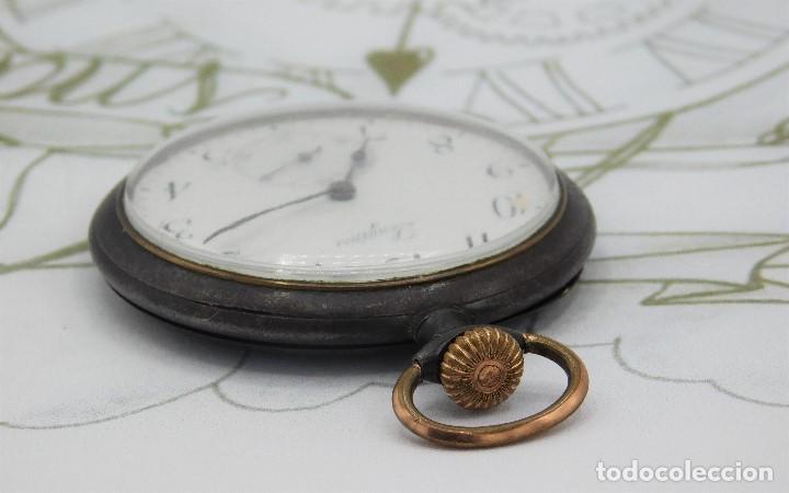 Relojes de bolsillo: LONGINES-RELOJ DE BOLSILLO-2 TAPAS-CIRCA 1908-FUNCIONANDO - Foto 11 - 146936890