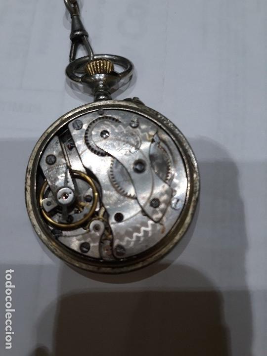 Relojes de bolsillo: Reloj de bolsillo 4,5 diámetro. 1880 F.Bachschmid suizo.tapa abierta por relojero.hay fotos del inte - Foto 7 - 146676490