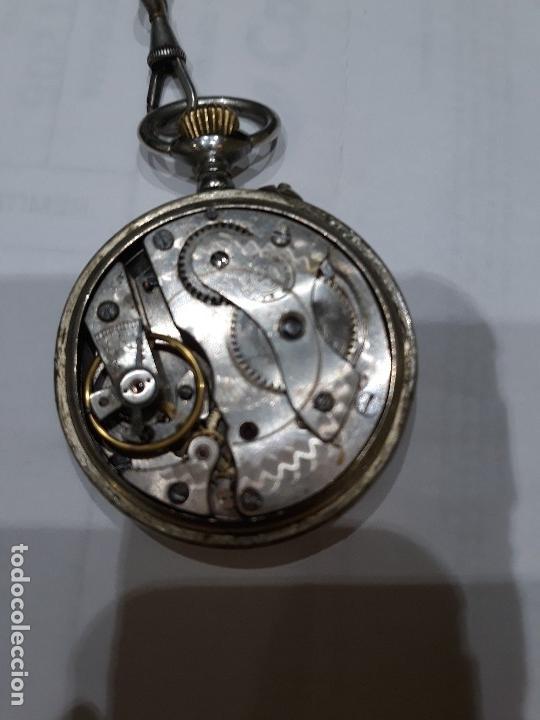 Relojes de bolsillo: Reloj de bolsillo 4,5 diámetro. 1880 F.Bachschmid suizo.tapa abierta por relojero.hay fotos del inte - Foto 8 - 146676490