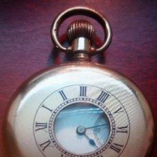 Relojes de bolsillo: ELGUIN GOLD PLATE. Lote 147010138
