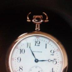 Relojes de bolsillo: WALTHAM MASS 1909. Lote 147039038