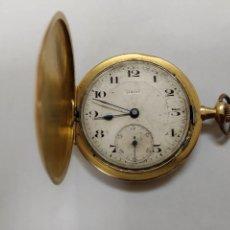 Relojes de bolsillo: RELOJ SIRIUS DE ORO. Lote 147288398