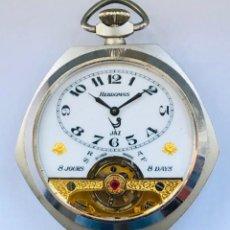 Relojes de bolsillo: RELOJ HEBDOMAS , MAGNIFICO. Lote 151705017