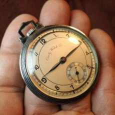 Relojes de bolsillo: ANTIGUO RELOJ DE BOLSILLO, CONTY WATCH CO, SWISS- MODELO DISEÑO ART DECO AÑOS 20-30. Lote 147911510