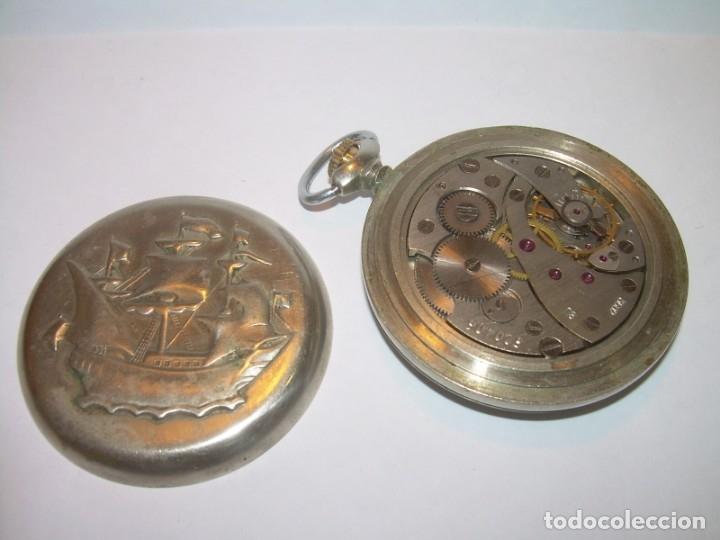 Relojes de bolsillo: ANTIGUO RELOJ DE BOLSILLO CARGA MANUAL.....CCCP. RUSIA. - Foto 2 - 147998966