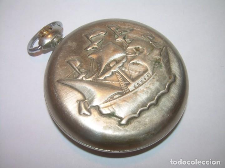 Relojes de bolsillo: ANTIGUO RELOJ DE BOLSILLO CARGA MANUAL.....CCCP. RUSIA. - Foto 4 - 147998966