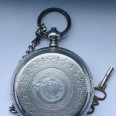 Relojes de bolsillo: RELOJ DE BOLSILLO SUIZO XIX. Lote 148058678