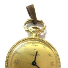 Relojes de bolsillo: PRECIOSO RELOJ ANTIGUO PARA SEÑORA MARCA DESCARTES FUNCIONA . Lote 148290586