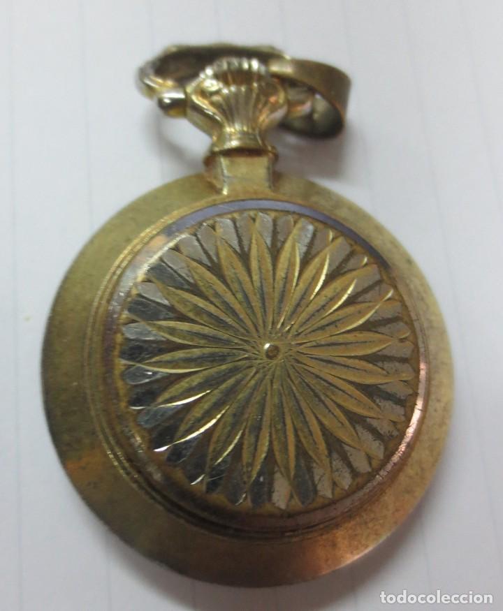 Relojes de bolsillo: PRECIOSO RELOJ ANTIGUO PARA SEÑORA MARCA DESCARTES FUNCIONA - Foto 2 - 148290586