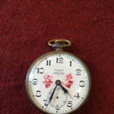 Relojes de bolsillo: RELOJ DE BOLSILLO ANCORA 15 JEWELS. Lote 148296889