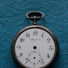 Relojes de bolsillo: RELOJ DE BOLSILLO ANTIGUO MARCA LONGINES PARA CABALLERO. . Lote 148348742