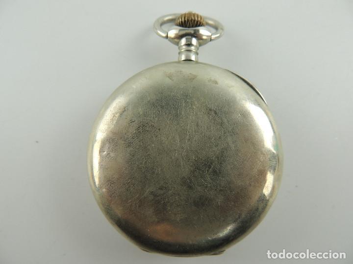 Relojes de bolsillo: G.Wahl & Co. reloj de Bolsillo cronometro plata 800 - Foto 9 - 148550390
