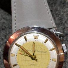 Relojes de bolsillo: RELOJ DE BOLSILLO DESPERTADOR SAINT BLAISE MODELO KEY WATCH CON DESPERTADOR ALARMA 17 RUBIES. Lote 149095942
