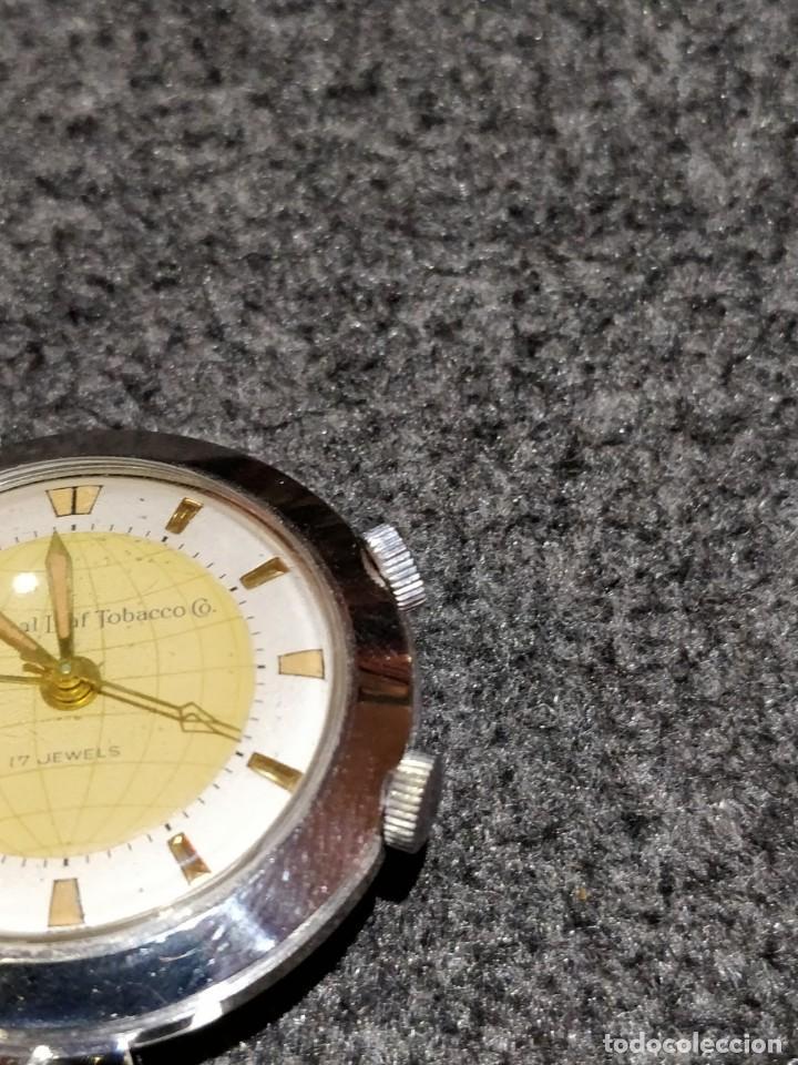 Relojes de bolsillo: Reloj de bolsillo despertador Saint Blaise modelo Key Watch con despertador alarma 17 rubies - Foto 2 - 149095942