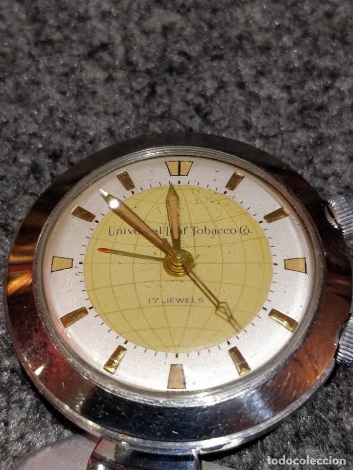 Relojes de bolsillo: Reloj de bolsillo despertador Saint Blaise modelo Key Watch con despertador alarma 17 rubies - Foto 3 - 149095942